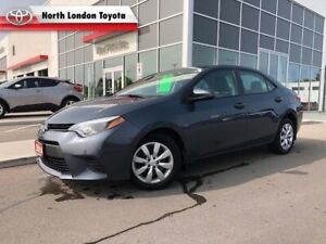 2014 Toyota Corolla LE One Owner, No Accidents, Toyota Serviced