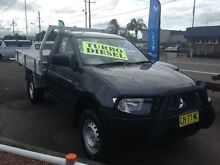 2008 Mitsubishi Triton ML MY09 GLX Grey 5 Speed Manual Cab Chassis Broadmeadow Newcastle Area Preview