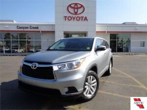 2016 Toyota Highlander LE AWD V6 TOYOTA CERTIFIED