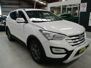 2012 Hyundai Santa Fe DM MY13 Active White 6 Speed Sports Automatic Wagon Maryville Newcastle Area Preview