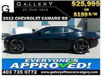 2012 Chevrolet Camaro RS $199 bi-weekly APPLY NOW DRIVE NOW