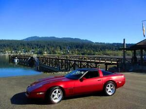 1990 Chevrolet Corvette Classic Sports Car With Removable Top!
