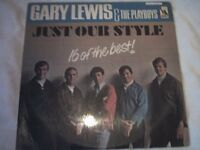 Vinyl LP Gary Lewis & The Playboys Just Our Style