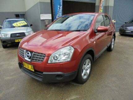 2008 Nissan Dualis J10 ST (4x4) Fired Iron 6 Speed Manual Wagon Holroyd Parramatta Area Preview
