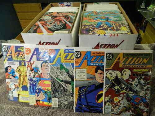 1988-2007  DC Comics ACTION COMICS (Superman) #600-850  You Pick Singles - VF/MT