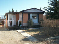 Well maintained mobile home in the town of Glaslyn- MLS®529775