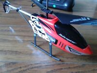 RC helicopter with remote control, with original box