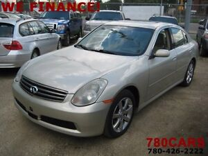 2005 Infiniti G35x All-wheel Drive Sedan-WE DO TRADES+BUY CARS