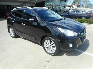 2012 Hyundai ix35 LM2 Highlander AWD Black 6 Speed Sports Automatic Wagon Yamanto Ipswich City Preview