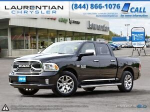 2016 Ram 1500 Limited- LOADED!!!!! LEATHER! NAVIGATION! BLUETOOT
