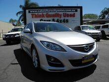 2010 Mazda 6 GH1052 MY10 Classic Silver 5 Speed Sports Automatic Wagon Caboolture South Caboolture Area Preview