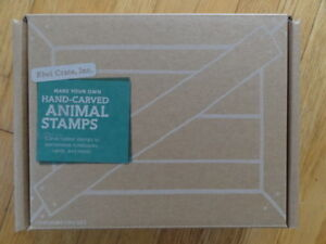 Kid's Craft: Make Your Own Animal Stamps