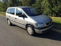 2005 Vauxhall Zafira 1.6 7 seater mpv 12 months mot 7 seats cheap reliable mpv