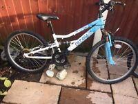 Girls Bikes x 2