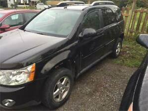 2006 Pontiac Torrent awd selling as is