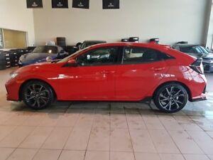 2018 Honda Civic Sport - B/U Cam, Sunroof + Media Inputs!
