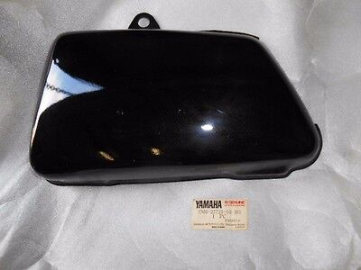 NOS Yamaha Battery Box Side Black Metal Cover 1979-1980 XS650 2M0-21721-00-H9