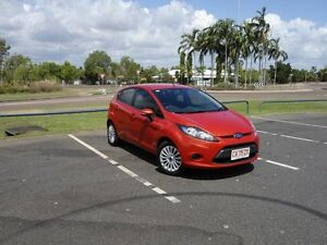 2012 Ford Fiesta WT LX Orange 6 Speed Automatic Hatchback Gunn Palmerston Area Preview