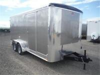 7 X 16 ENCLOSED BY CARGO MATE - TAX IN PRICE - LED, RADIAL