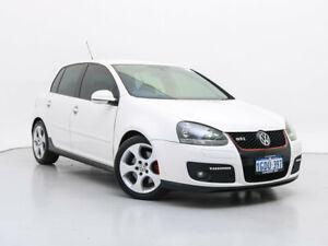 2007 Volkswagen Golf 1K MY08 Upgrade GTi White 6 Speed Direct Shift Hatchback