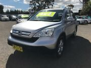 2008 Honda CR-V MY07 (4x4) Silver 5 Speed Automatic Wagon Lansvale Liverpool Area Preview