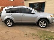 SUV Compact 2007 Mitsubishi Outlander VR-X Luxury (7 Seat) West Pennant Hills The Hills District Preview