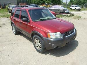 2003 Ford Escape XLT Leather Kitchener / Waterloo Kitchener Area image 3