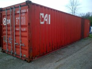 We deliver 40ft steel sea storage shipping containers Cambridge Kitchener Area image 2