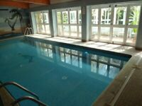 Spacious 1 Bed Flat With Gym, Pool, Sauna Included & Stunning Views 2 Mins Clapham Junction Station
