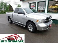 2014 Ram 1500 SLT Quad 4x4 w/ NAV only $249 bi-weekly!