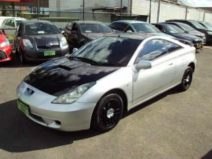 2000 Toyota Celica SX Silver 4 Speed Sequential Auto Liftback Punchbowl Canterbury Area Preview