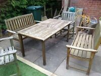 Garden Furniture (wooden)