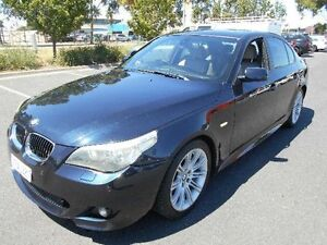 2006 BMW 525i E60 MY06 Upgrade Sport Black 6 Speed Steptronic Sedan Maidstone Maribyrnong Area Preview