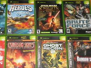 Tons of XBOX games