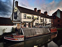 Assistant Bar Manager in Award Winning Canalside Pub
