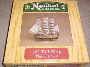"The Nautical Collection ""Flying Cloud"" Tall Ship"