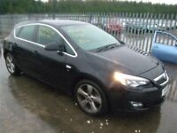 Vauxhall Astra j 2.0 cdti breaking parts black