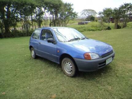 1999 Toyota Starlet Hatchback Nice Aircon Rwc Safety Cert  CHEAP Deagon Brisbane North East Preview