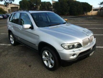 2004 BMW X5 E53 4.4I Silver 6 Speed Automatic Wagon Maidstone Maribyrnong Area Preview
