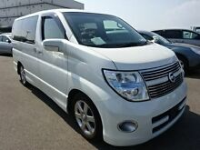 2009 Nissan Elgrand HIGHWAYSTAR White 5 Speed Automatic Wagon Southport Gold Coast City Preview