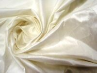 """Bridal sewing fabric , Ivory fine silk dupion, 12:70 metres. 140cm ( 55"""") wide"""