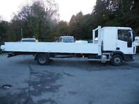 Iveco 7.5 ton Sleeper Cab Dropside