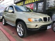 2003 BMW X5 E53 MY04 Steptronic Gold 5 Speed Sports Automatic Wagon Maidstone Maribyrnong Area Preview