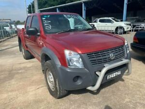 2006 Holden Rodeo RA MY06 LX Crew Cab Burgundy 4 Speed Automatic Utility Wickham Newcastle Area Preview