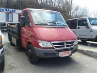 2006 Dodge Sprinter 3500 2.7 L Turbo Diesel 12x6 Box and ramp