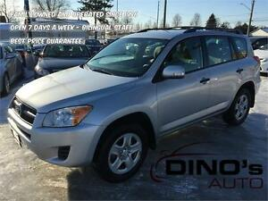 2011 Toyota RAV4 AWD | $68 Weekly *OAC $0 Down / Accident Free!