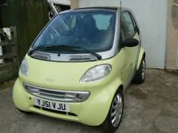 Smart Car City Coupe Fortwo Automatic