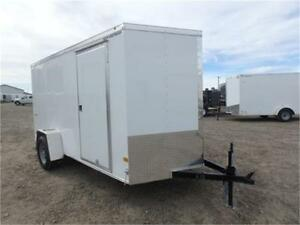 6 X 12 BY WELLS CARGO - LOADED W/OPTIONS FOR ONLY $4,574 TAX IN!