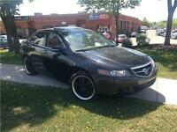 2004 Acura TSX 6 SPEED MANUAL TRANSMISSION .