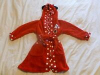 Girl's Minnie Mouse Dressing Gown